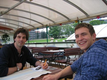 PMR and AIESEC International Trainee Meeting on the Vistula River